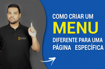 Menu Diferente no WordPress