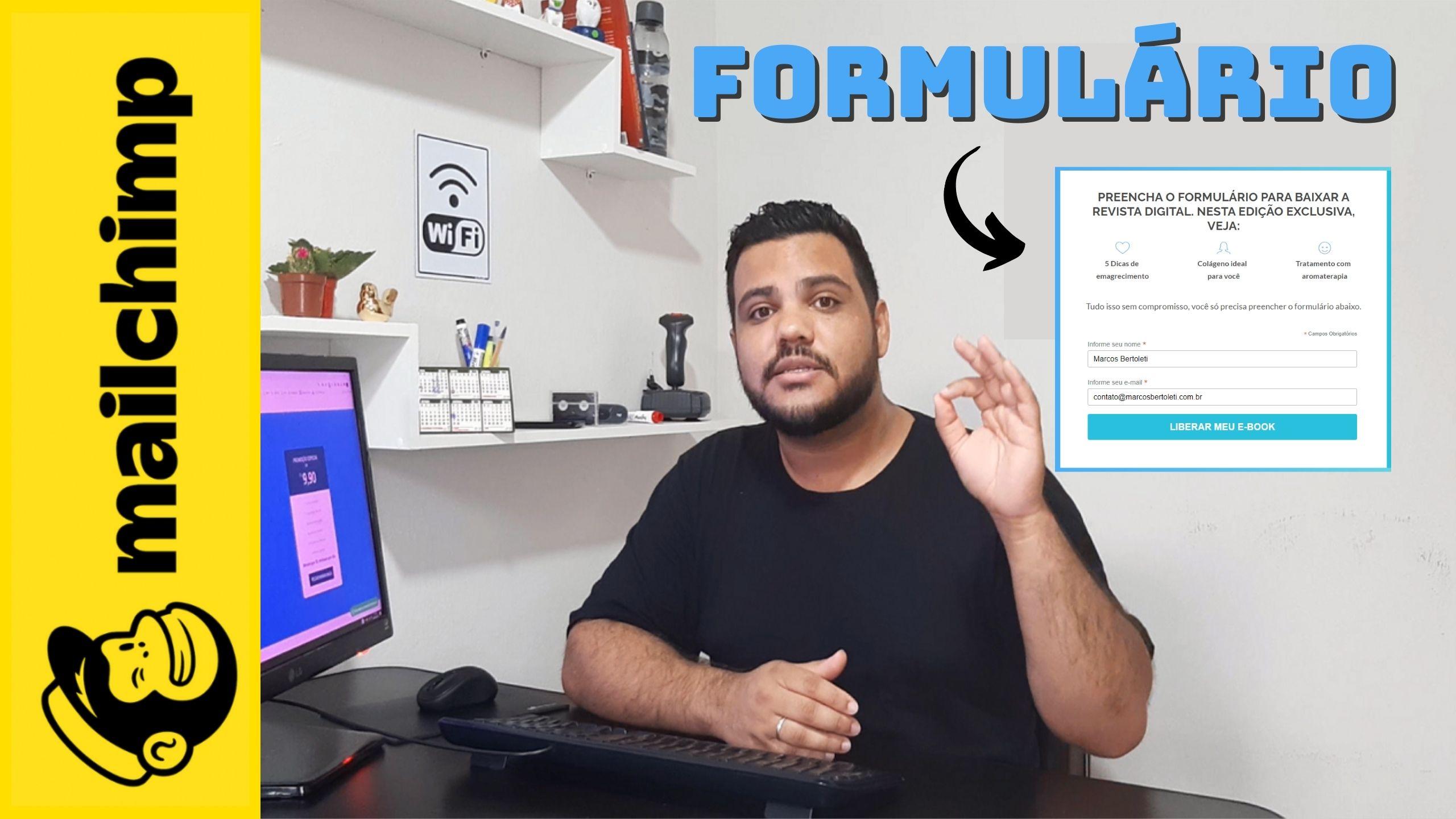 Como Criar um Formulário Mailchimp
