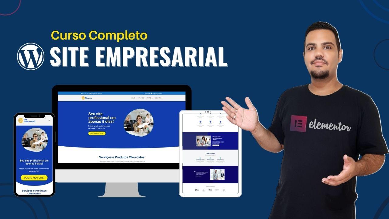 Curso Criação de Site Empresarial